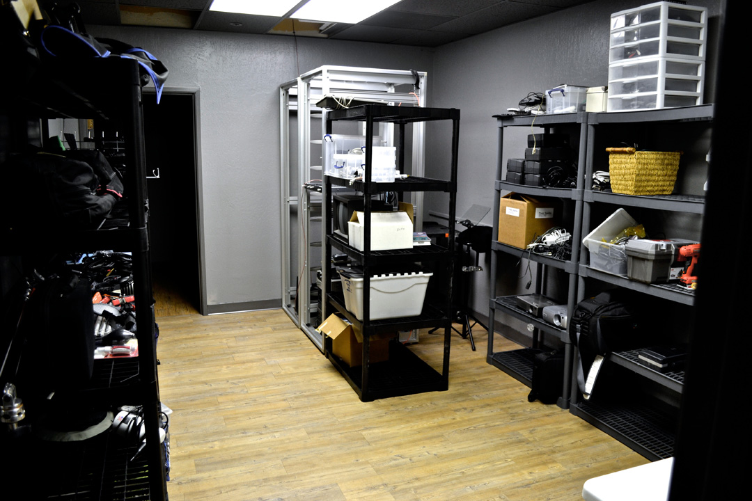 Equipment Room Media Vault Studio Benna