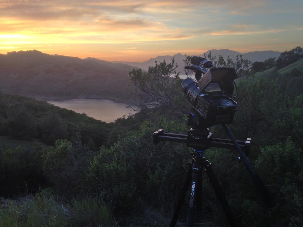 Lake Sonoma 50 - camera slider sunet