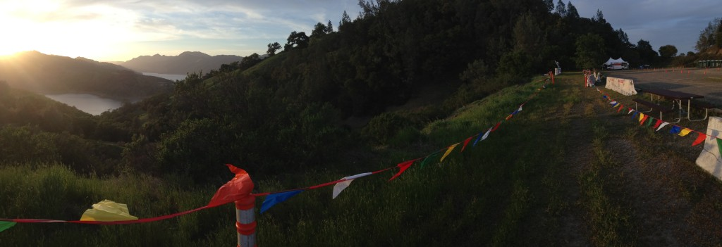 Lake Sonoma 50 - start finish line